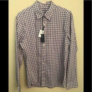JCrew plaid button down shirt